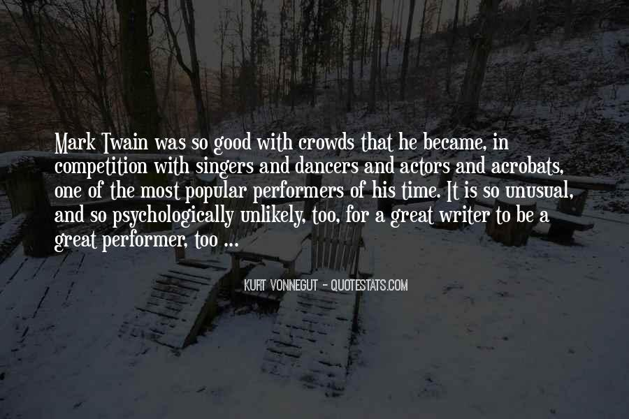 Quotes About Crowds #55913