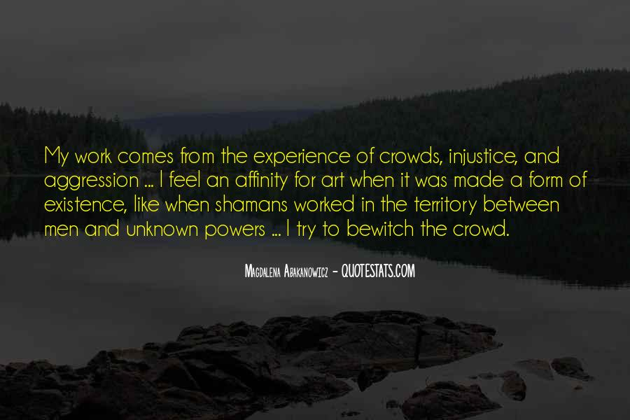 Quotes About Crowds #96494