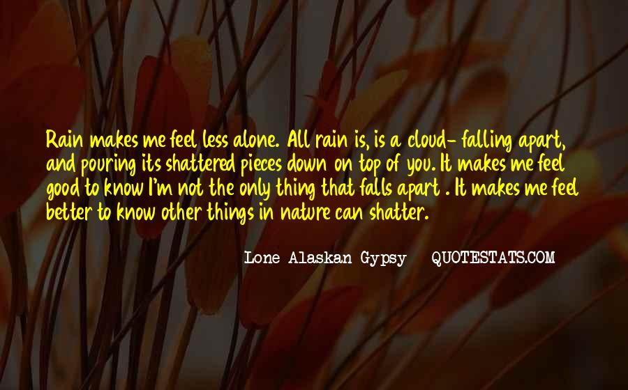 Quotes About Not Falling Apart #1119019