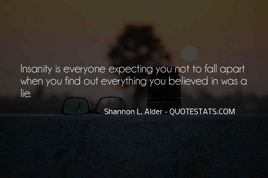 Quotes About Not Falling Apart #159308