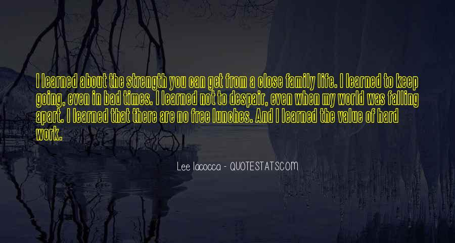 Quotes About Not Falling Apart #1693331