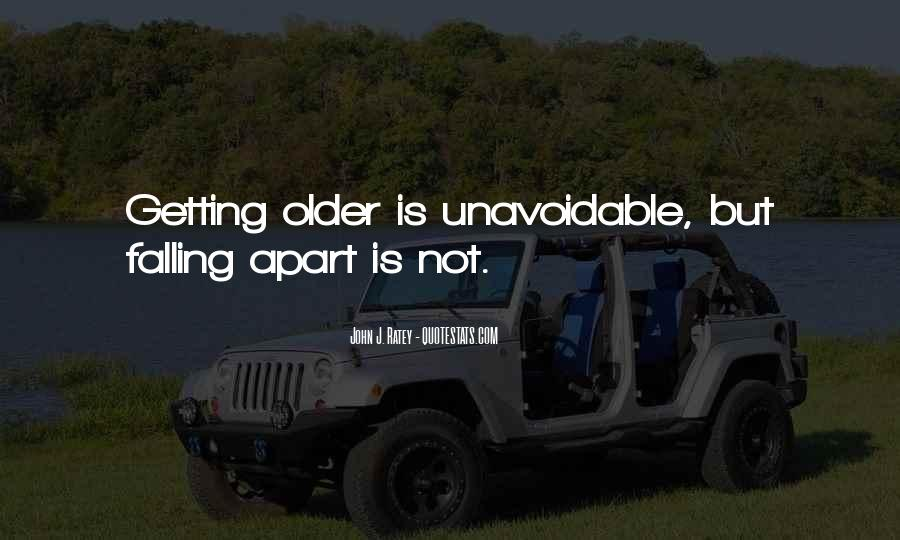 Quotes About Not Falling Apart #359796