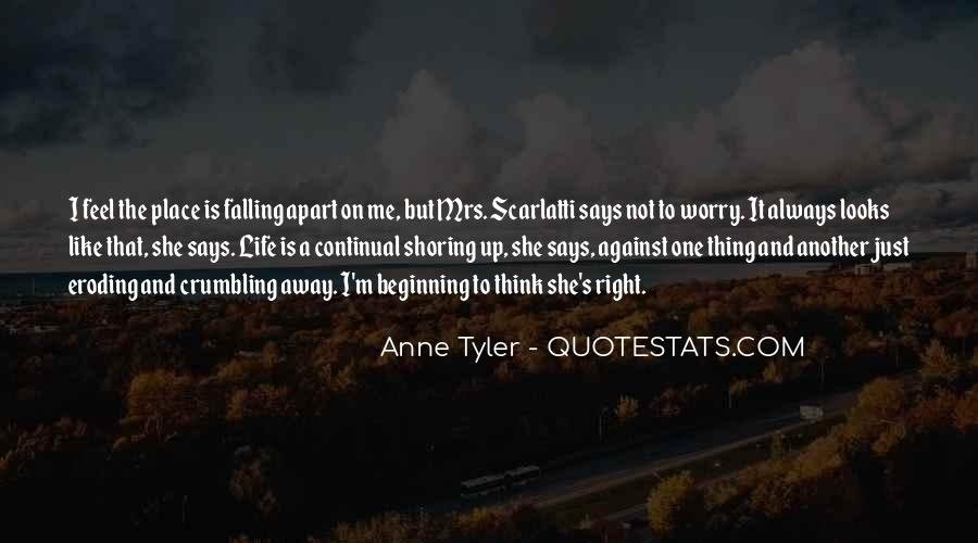 Quotes About Not Falling Apart #959334