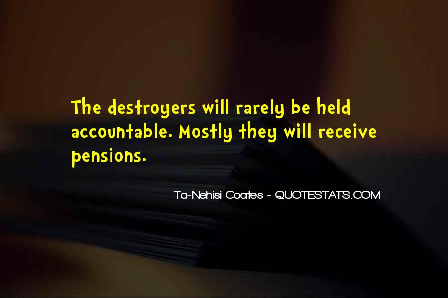 Quotes About Destroyers #1604821