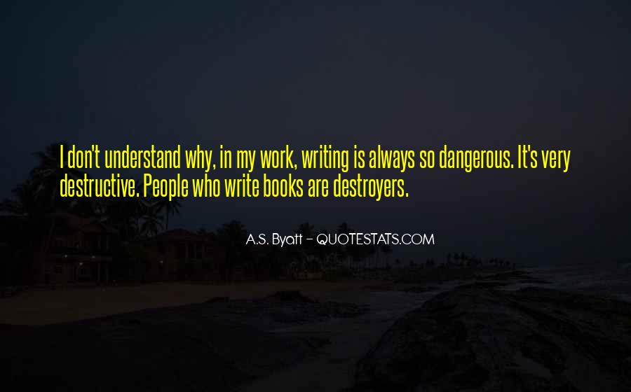 Quotes About Destroyers #343223