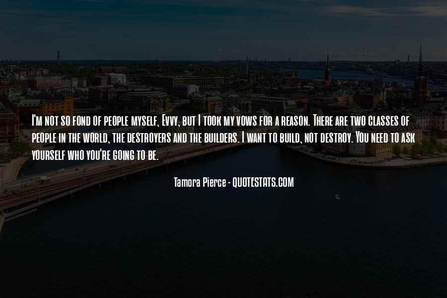 Quotes About Destroyers #479236