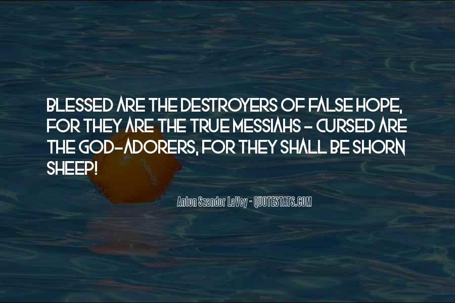 Quotes About Destroyers #731016