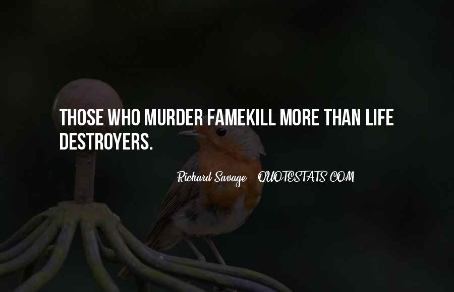 Quotes About Destroyers #866722
