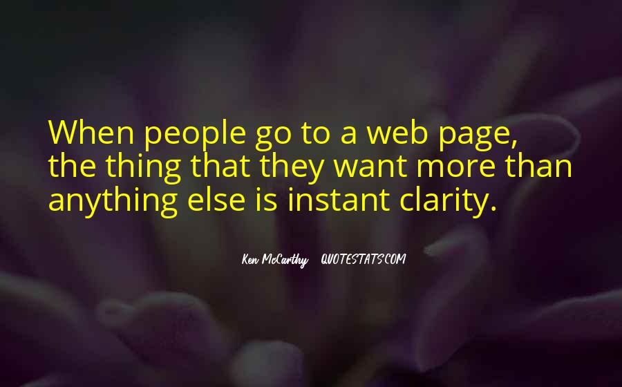 Quotes About Web Pages #1262030