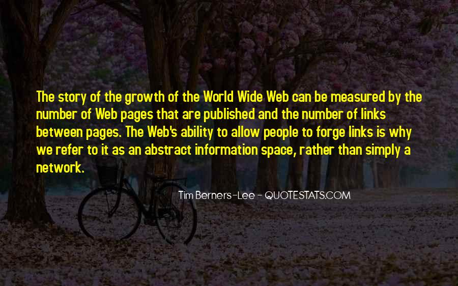 Quotes About Web Pages #1511556