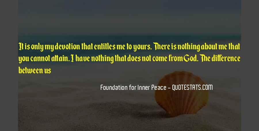 Quotes About Devotion To God #1103551