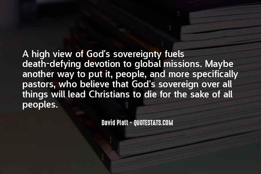 Quotes About Devotion To God #1112506