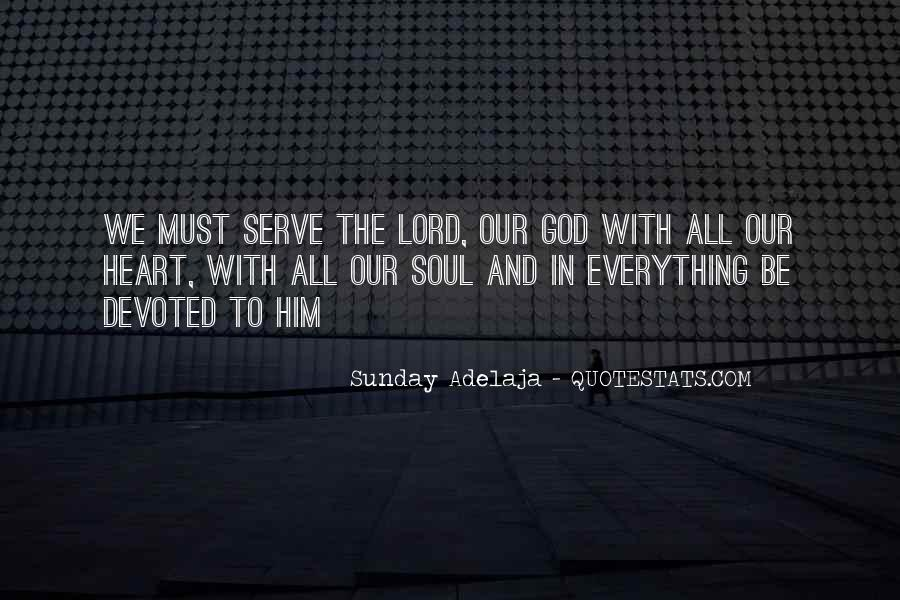 Quotes About Devotion To God #1235128