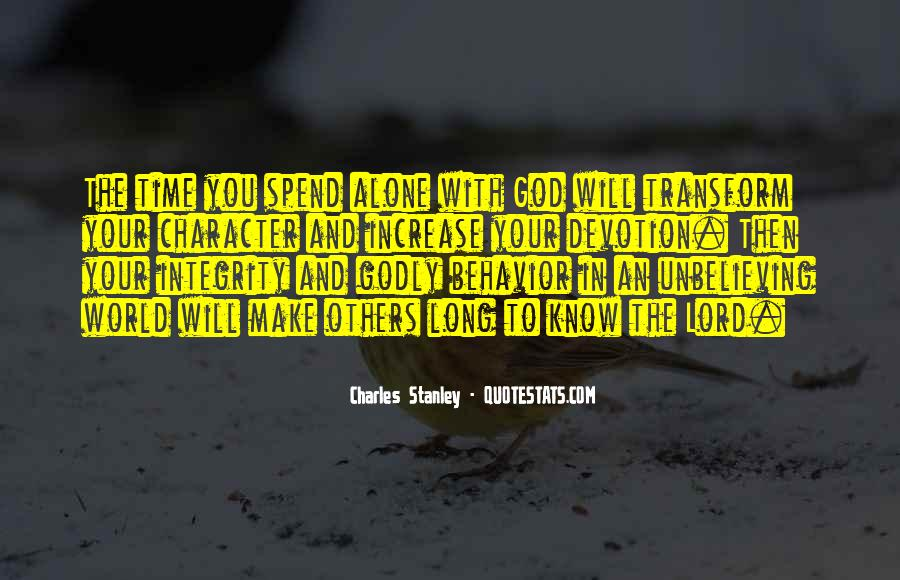 Quotes About Devotion To God #1246225