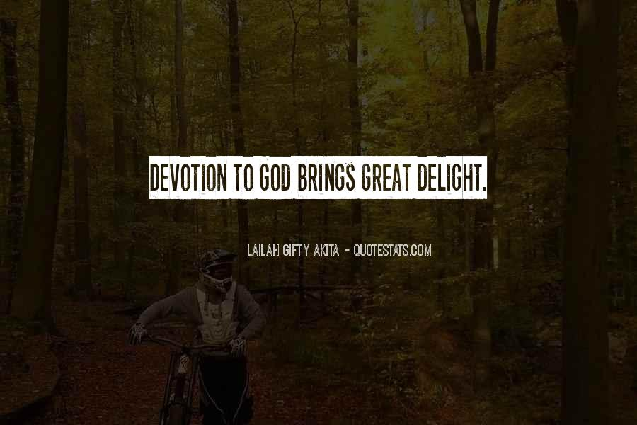 Quotes About Devotion To God #137116