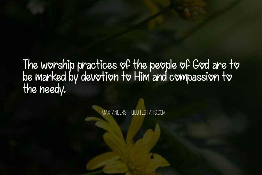Quotes About Devotion To God #138506