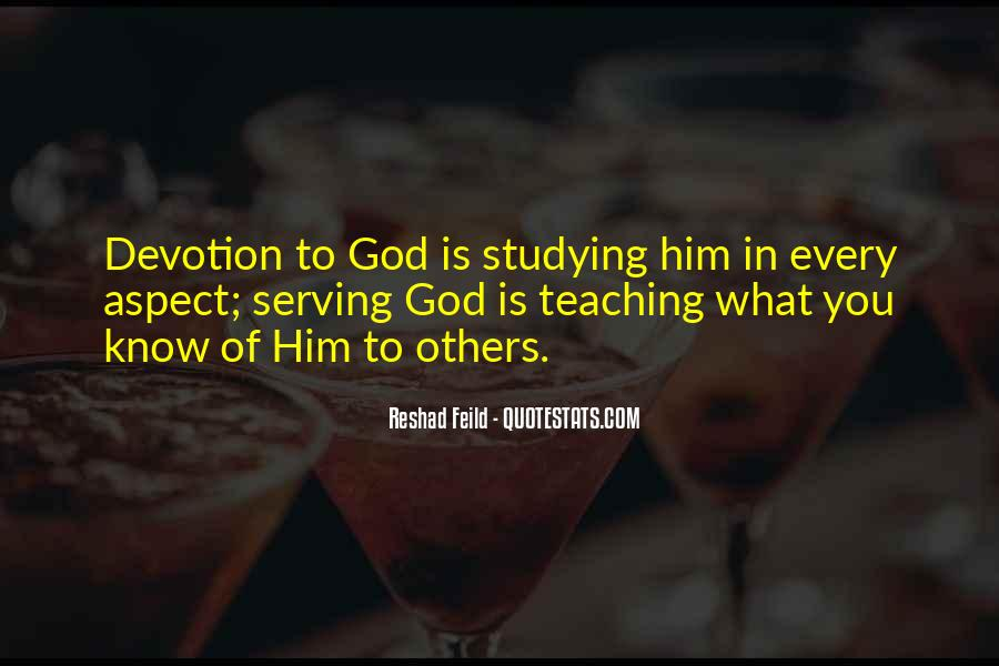 Quotes About Devotion To God #142843