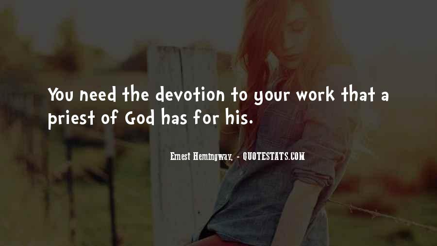 Quotes About Devotion To God #1428976