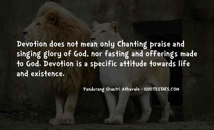 Quotes About Devotion To God #145190