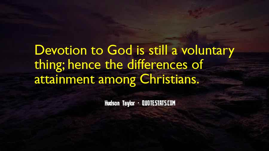 Quotes About Devotion To God #1467899