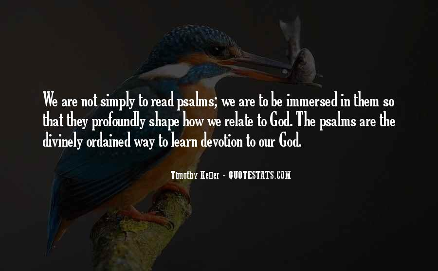 Quotes About Devotion To God #461256