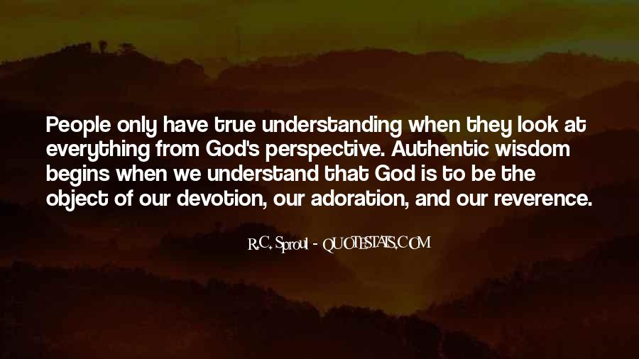 Quotes About Devotion To God #506704