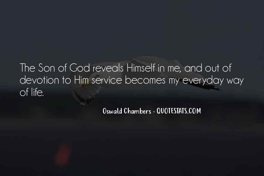Quotes About Devotion To God #518498