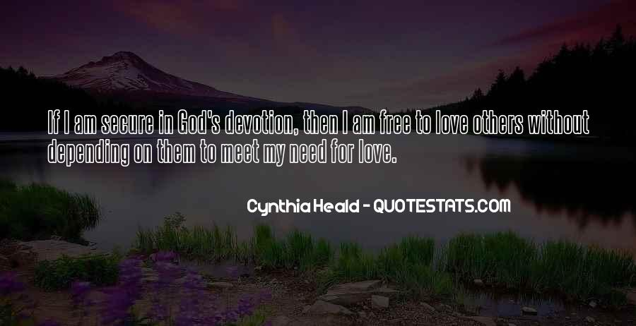 Quotes About Devotion To God #73230