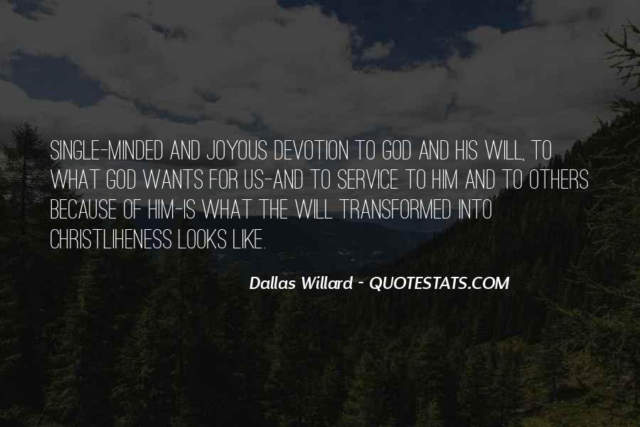 Quotes About Devotion To God #75962