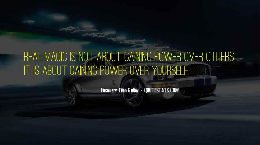 Quotes About Gaining Power #1265369