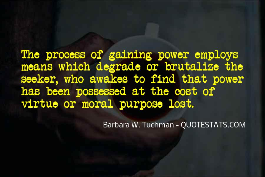 Quotes About Gaining Power #1311313