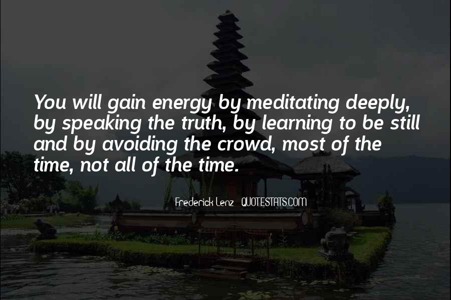 Quotes About Gaining Power #1785786