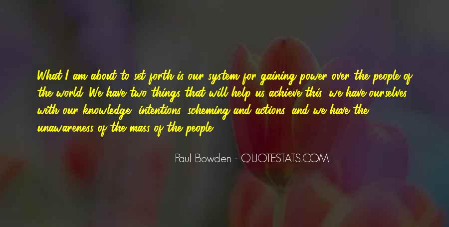 Quotes About Gaining Power #461073
