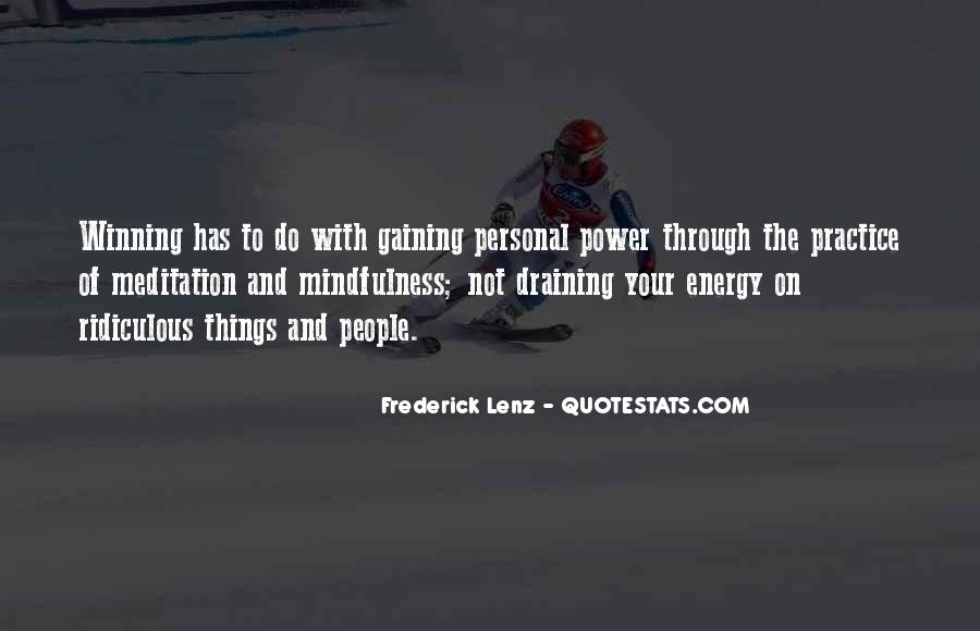 Quotes About Gaining Power #475832