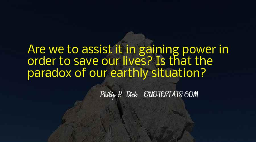 Quotes About Gaining Power #960891