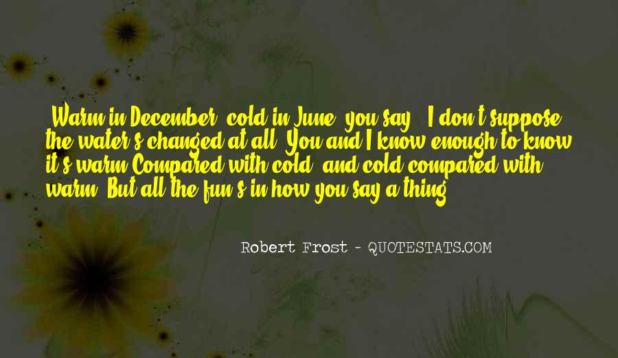 Quotes About December #156818