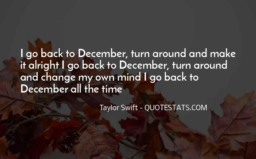 Quotes About December #330237