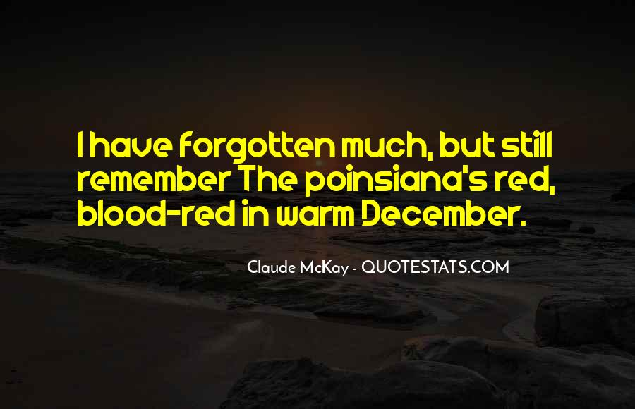 Quotes About December #405408