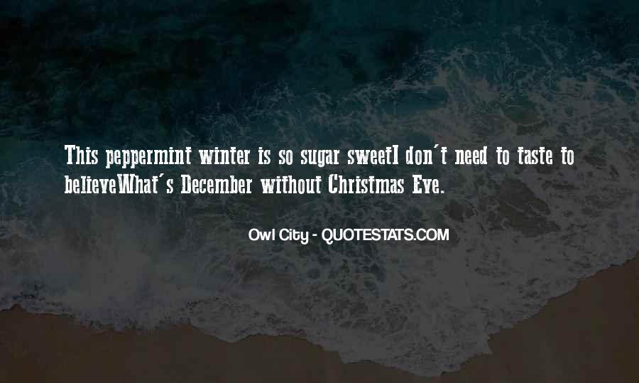 Quotes About December #82721