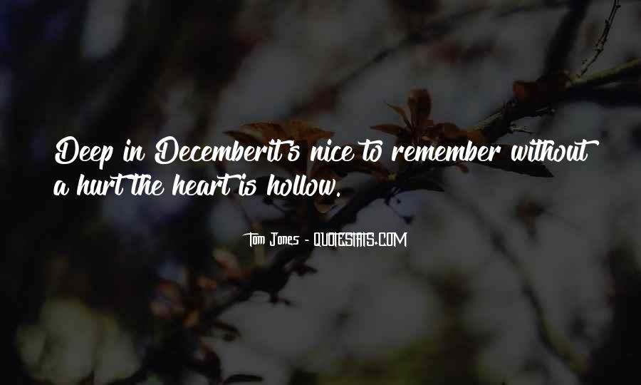 Quotes About December #87939