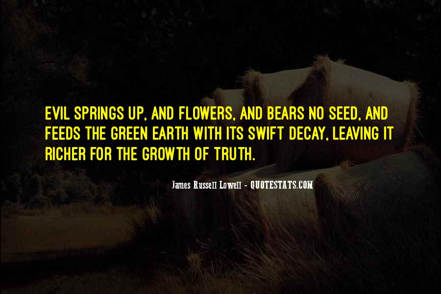 Quotes About Growth And Flowers #280502