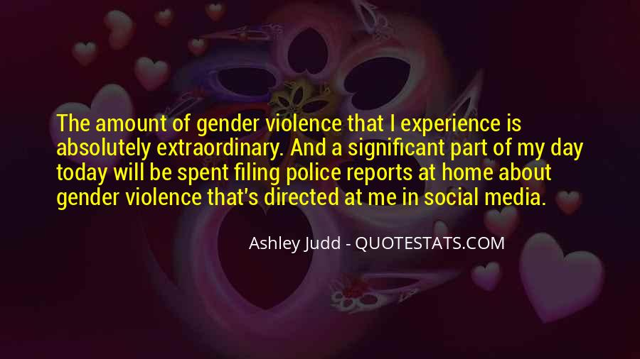Quotes About Violence In The Media #1244648