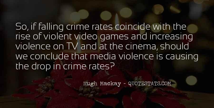Quotes About Violence In The Media #1445495