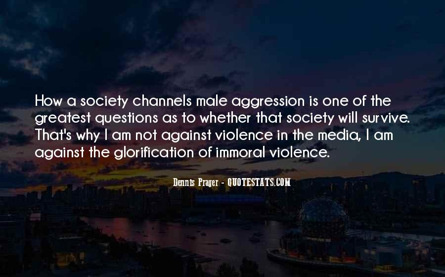 Quotes About Violence In The Media #1595973