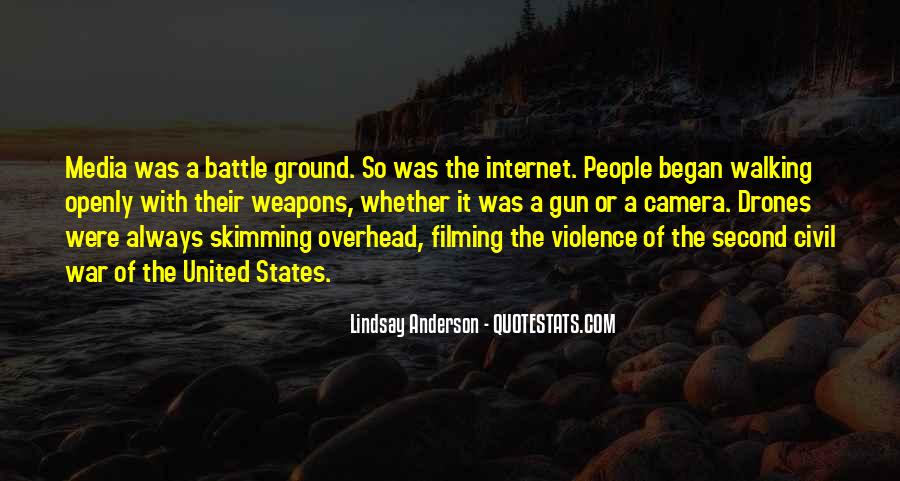 Quotes About Violence In The Media #1713338