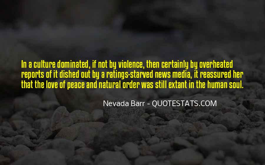 Quotes About Violence In The Media #1786474