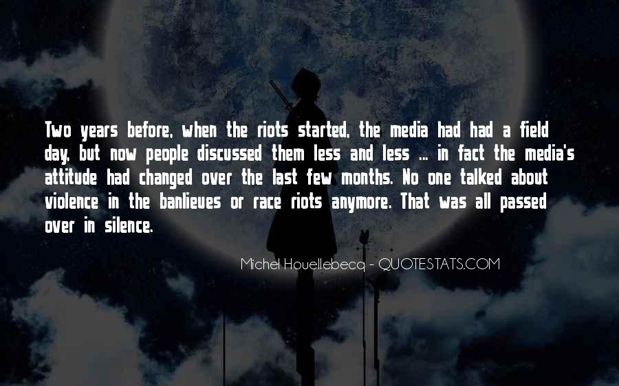 Quotes About Violence In The Media #295413