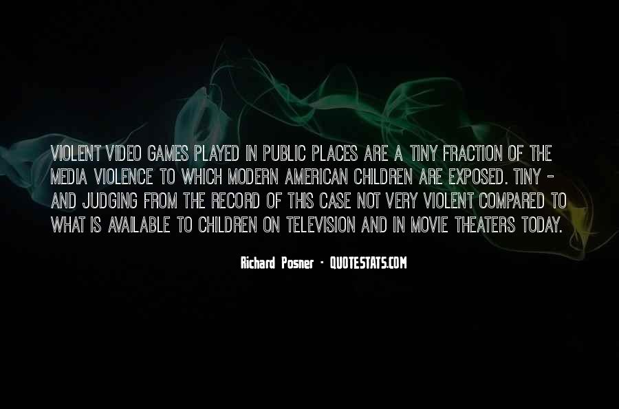 Quotes About Violence In The Media #64173