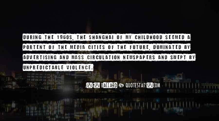 Quotes About Violence In The Media #755977