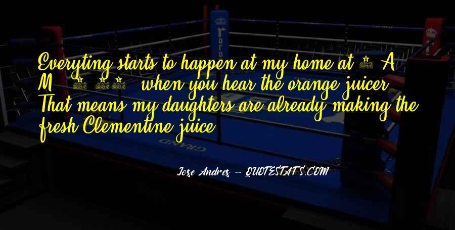 Quotes About Orange Juice #104074